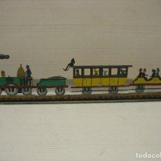 Trenes Escala: TREN DECORATIVO PLANO. Lote 205326136