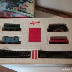 Trenes Escala: TREN CON CAJA ORIGINAL JYESA ESCALA H0 COMPLETO.. Lote 205358598