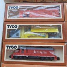 Trenes Escala: LOTE DE TREN TYCO HO Y COMPONENTES VARIOS. Lote 205379078