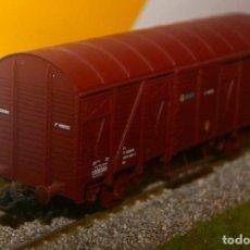 """Trenes Escala: VAGÓN CERRADO """"J"""" ELECTROTREN. ESCALA 1:87, H0 RENFE.. Lote 205392325"""