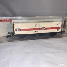 Trenes Escala: FLEISCHMANN VAGON PORTACONTENEDORES DB HO. Lote 205555415