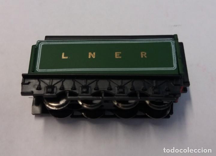 Trenes Escala: BONITO TREN LOCOMOTORA CON VAGON MINIATURA - Foto 4 - 206188560