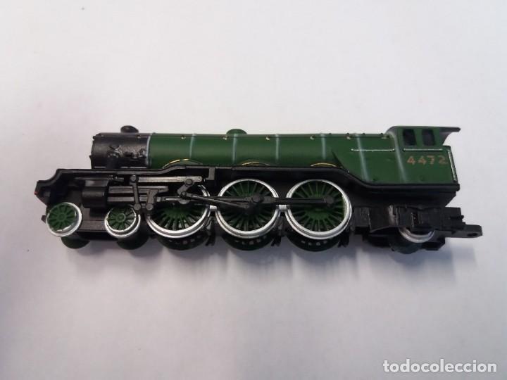 Trenes Escala: BONITO TREN LOCOMOTORA CON VAGON MINIATURA - Foto 6 - 206188560