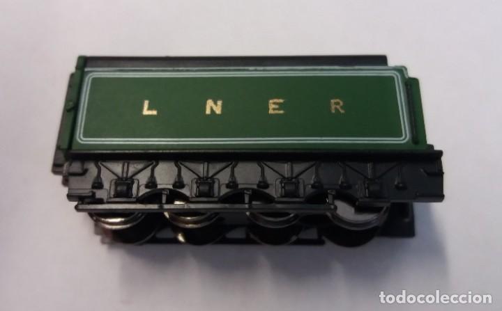Trenes Escala: BONITO TREN LOCOMOTORA CON VAGON MINIATURA - Foto 7 - 206188560