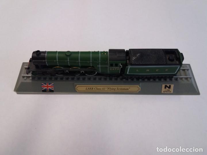 Trenes Escala: BONITO TREN LOCOMOTORA CON VAGON MINIATURA - Foto 9 - 206188560