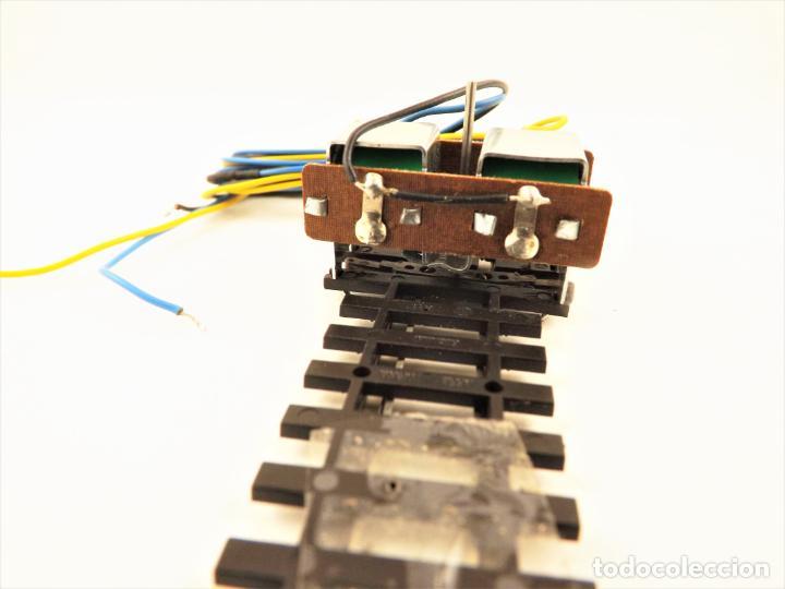 Trenes Escala: Vía métrica (via estrecha) Peco Desvío curvo derecha eléctrico H0m SL88 + PL11 - Foto 5 - 217803607