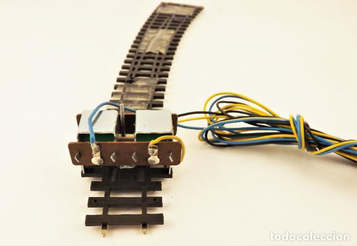 Trenes Escala: Vía métrica (via estrecha)Peco Desvío curvo izquierda eléctrico H0m SL87 + PL11 - Foto 4 - 217803210