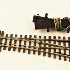Trenes Escala: VIA METRICA H0 12MM PECO DESVÍO RECTO A DERECHA ELÉCTRICO H0M SLE92 + PL15. Lote 206383141