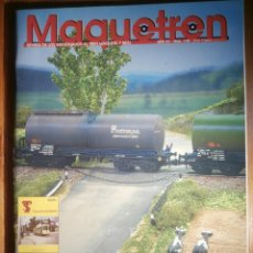 Trenes Escala: REVISTA - MAQUETREN - AFICIONADOS TREN, TRENES ELÉCTRICOS A ESCALA Y MAQUETAS,, FERROVIARIOS Nº 149. Lote 206468462