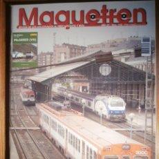 Trenes Escala: REVISTA - MAQUETREN - AFICIONADOS TREN, TRENES ELÉCTRICOS A ESCALA Y MAQUETAS,, FERROVIARIOS Nº 152. Lote 206468998