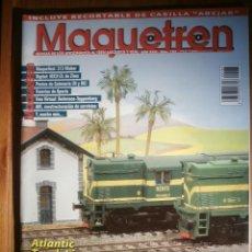 Trenes Escala: REVISTA - MAQUETREN - AFICIONADOS TREN, TRENES ELÉCTRICOS A ESCALA Y MAQUETAS,, FERROVIARIOS Nº 183. Lote 206469143