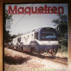 Trenes Escala: REVISTA - MAQUETREN - AFICIONADOS TREN, TRENES ELÉCTRICOS A ESCALA Y MAQUETAS,, FERROVIARIOS Nº 186. Lote 206469730