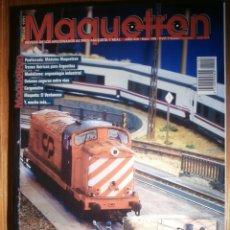 Trenes Escala: REVISTA - MAQUETREN - AFICIONADOS TREN, TRENES ELÉCTRICOS A ESCALA Y MAQUETAS,, FERROVIARIOS Nº 198. Lote 206470045