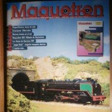 Trenes Escala: REVISTA - MAQUETREN - AFICIONADOS TREN, TRENES ELÉCTRICOS A ESCALA Y MAQUETAS,, FERROVIARIOS Nº 199. Lote 206470211