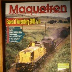 Trenes Escala: REVISTA - MAQUETREN - AFICIONADOS TREN, TRENES ELÉCTRICOS A ESCALA Y MAQUETAS,, FERROVIARIOS Nº 158. Lote 206582418