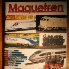 Trenes Escala: REVISTA - MAQUETREN - AFICIONADOS TREN, TRENES ELÉCTRICOS A ESCALA Y MAQUETAS,, FERROVIARIOS Nº 157. Lote 206582567