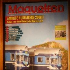 Trenes Escala: REVISTA - MAQUETREN - AFICIONADOS TREN, TRENES ELÉCTRICOS A ESCALA Y MAQUETAS,, FERROVIARIOS Nº 156. Lote 206582647