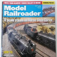 Trenes Escala: REVISTA MODEL RAILROADER - MARCH 2000. AMERICANA. EN INGLÉS.. Lote 207061473