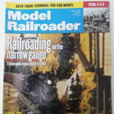 Trenes Escala: REVISTA MODEL RAILROADER - MAY 2000. AMERICANA. EN INGLÉS.. Lote 207061666
