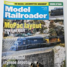 Trenes Escala: REVISTA MODEL RAILROADER - JUNE 2000. AMERICANA. EN INGLÉS.. Lote 207061746