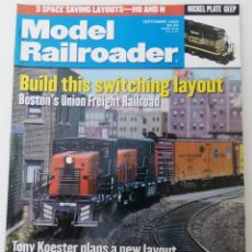 Trenes Escala: REVISTA MODEL RAILROADER - SEPTEMBER 2000. AMERICANA. EN INGLÉS.. Lote 207062026