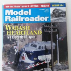 Trenes Escala: REVISTA MODEL RAILROADER - DECEMBER 2000. AMERICANA. EN INGLÉS.. Lote 207062681