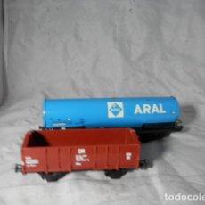 Trenes Escala: LOTE VAGONES ESCALA HO. Lote 207147135
