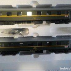 Trenes Escala: VAGONES SERIE LIMITADA RENFE SANITARIOS MABAR. Lote 207168033