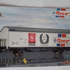 Trenes Escala: CATALOGO ROCO H0 Y N. 1998-99. EN ESPAÑOL. RENFE. Lote 207222262