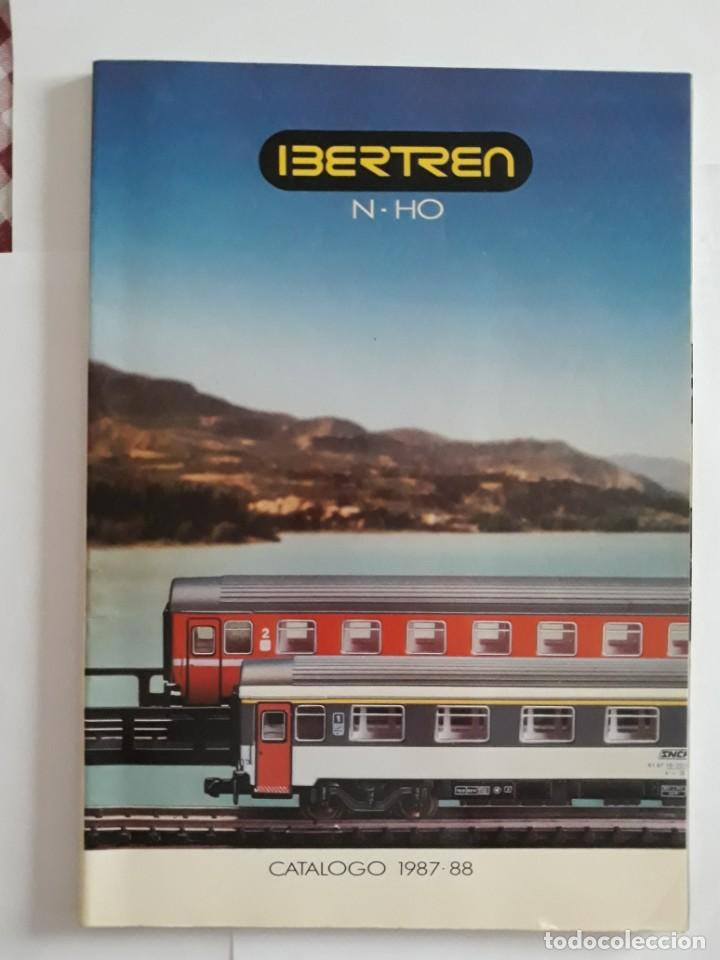 CATALOGO IBERTREN N - H0. CATÁLOGO 1987-88 (Juguetes - Trenes - Varios)