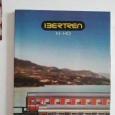 Trenes Escala: CATALOGO IBERTREN N - H0. CATÁLOGO 1987-88. Lote 207226268