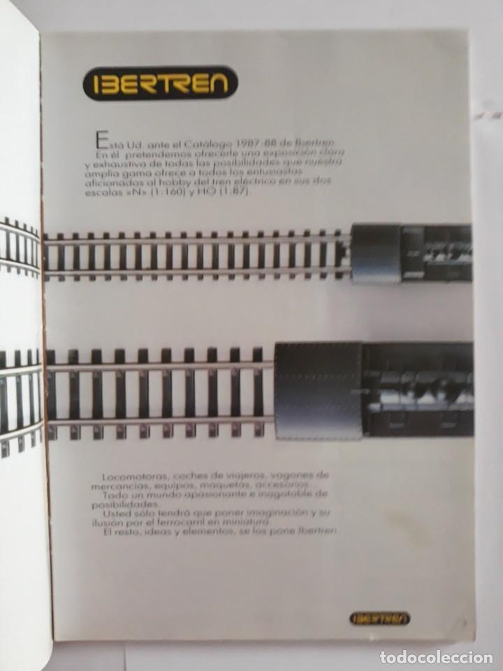 Trenes Escala: CATALOGO IBERTREN N - H0. CATÁLOGO 1987-88 - Foto 2 - 207226268