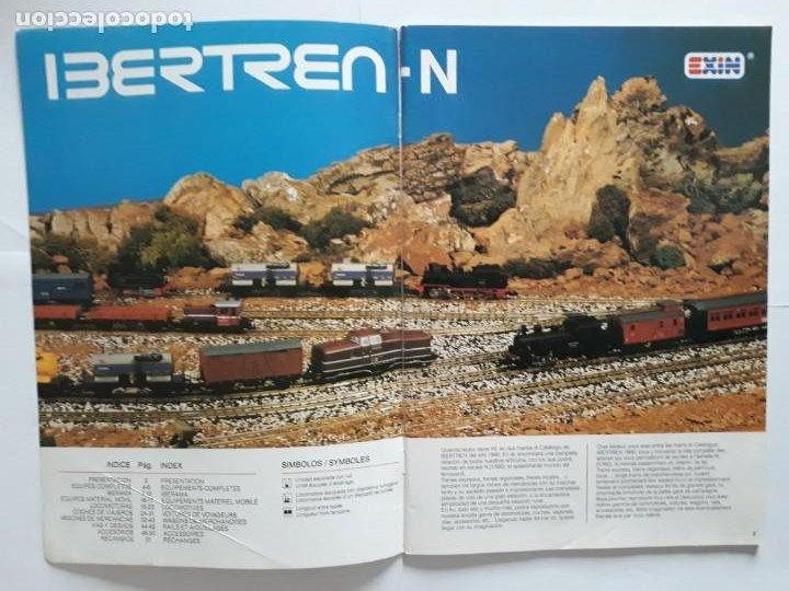 Trenes Escala: CATALOGO IBERTREN ESCALA N . 1990. ESPAÑOL - FRANCÉS - Foto 3 - 207228557