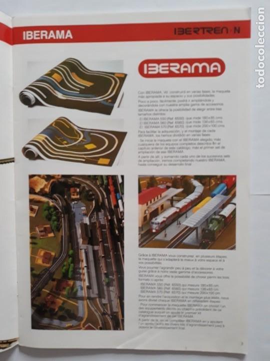 Trenes Escala: CATALOGO IBERTREN ESCALA N . 1990. ESPAÑOL - FRANCÉS - Foto 4 - 207228557