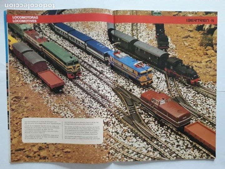 Trenes Escala: CATALOGO IBERTREN ESCALA N . 1990. ESPAÑOL - FRANCÉS - Foto 6 - 207228557
