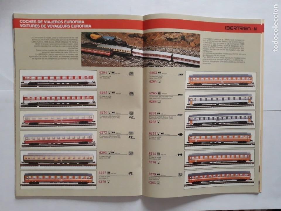 Trenes Escala: CATALOGO IBERTREN ESCALA N . 1990. ESPAÑOL - FRANCÉS - Foto 7 - 207228557