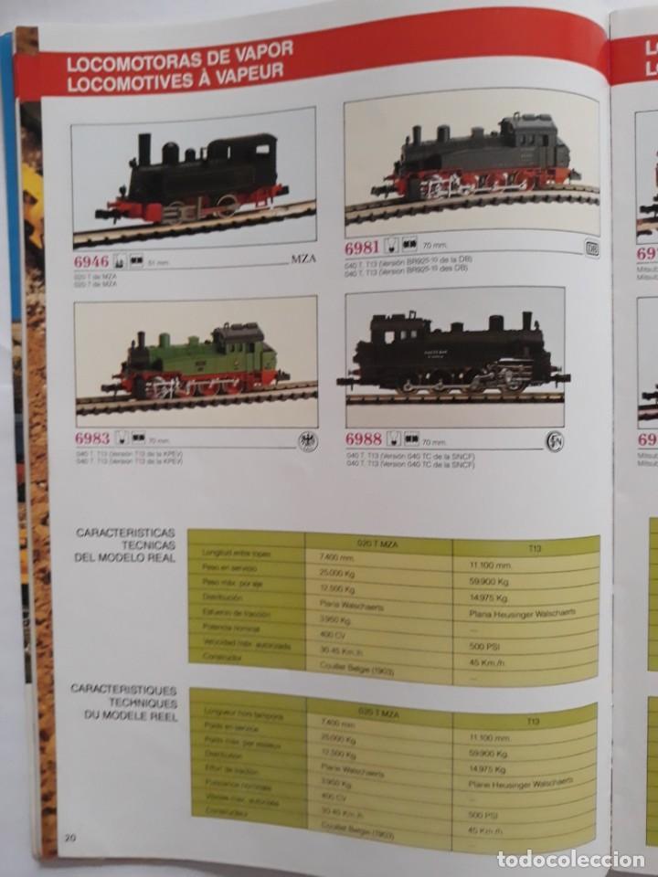 Trenes Escala: CATALOGO IBERTREN ESCALA N . 1990. ESPAÑOL - FRANCÉS - Foto 8 - 207228557