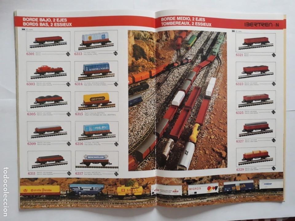 Trenes Escala: CATALOGO IBERTREN ESCALA N . 1990. ESPAÑOL - FRANCÉS - Foto 12 - 207228557