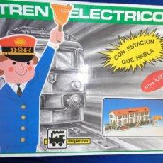 Trenes Escala: PEQUETREN -TREN ELECTRICO A PILAS, MADE IN SPAIN, VER FOTOS! SM. Lote 207541148