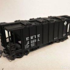 Trenes Escala: BOWSER. ESCALA H0. VAGÓN COVERED HOPPER ERIE. #2129-1.. Lote 207928856