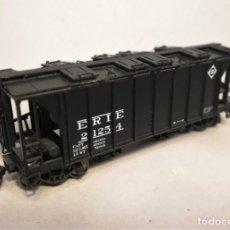 Trenes Escala: BOWSER. ESCALA H0. VAGÓN COVERED HOPPER ERIE. #2125-4.. Lote 207928998