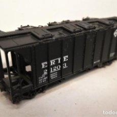 Trenes Escala: BOWSER. ESCALA H0. VAGÓN COVERED HOPPER ERIE. #2120-3. Lote 207929153