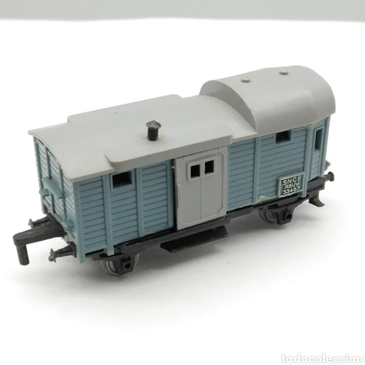 Trenes Escala: LOTE DE 1 MÁQUINA y 3 VAGONES MAJORETTE RAIL ROUTE ESCALA 1/143 INICIO DE LOS AÑOS 60 - Foto 9 - 208012562