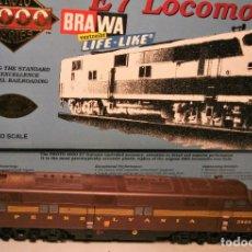 Trenes Escala: PROTO 2000 BRAWA. ESCALA H0. LOCOMOTORA AMERICANA EMD E7. PENNSYLVANIA #5860 DCC DIGITAL. Lote 208339660
