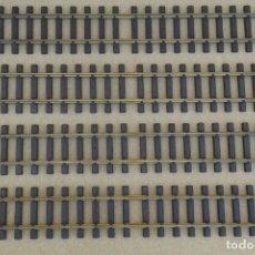 Comboios Escala: 4 VIAS DE LGB ESCALA G, 60 CM DE LARGO, ENVIO 6,00 EUROS. Lote 209588217