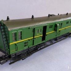 Trenes Escala: TRENDISEÑO H0 FURGÓN CORREOS EQUIPAJES RENFE KIT LATÓN,VÁLIDO IBERTREN,ROCO,ELECTROTREN,ETC MUY RARO. Lote 209897985