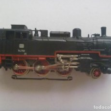 Trenes Escala: MAQUINA DE TREN DE MARKLIN , MADE IN WEST GERMANY.. NO SE LA ESCALA, MIDE 14 CM DE LARGO. Lote 210284015