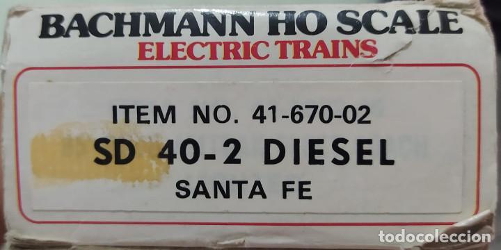 Trenes Escala: Locomotora santa fe 5043 bachmann escala ho nueva - Foto 4 - 210349380