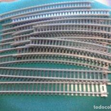 Trenes Escala: LOTE DE VIAS ESCALA H0. Lote 210365915