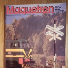 Trenes Escala: REVISTA - MAQUETREN - AFICIONADOS TREN, TRENES ELÉCTRICOS A ESCALA Y MAQUETAS, FERROVIARIOS, Nº 26. Lote 210370300